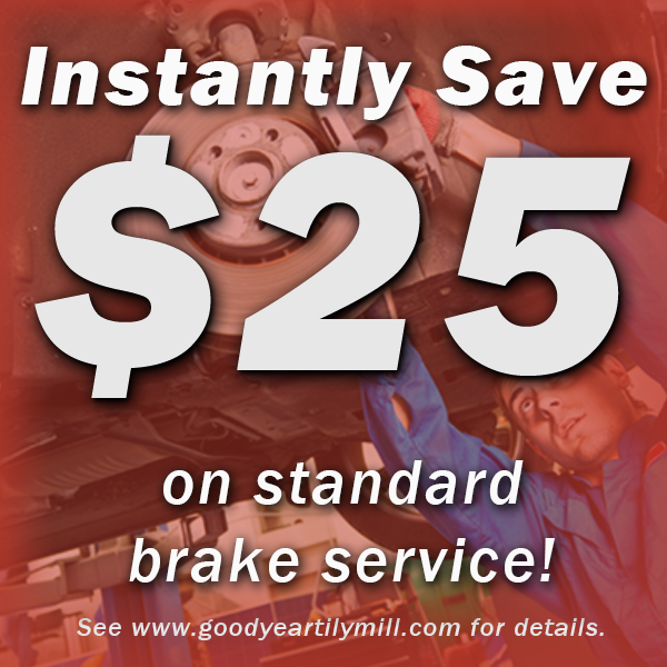 Goodyear coupon for Brake Service - near Dunwoody, Doraville, Chamblee and Peachtree Corners, GA